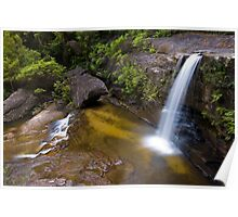 Blue Mountains Waterall Poster