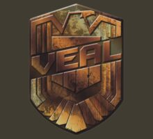 Custom Dredd Badge - Veal by CallsignShirts