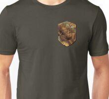 Custom Dredd Badge - Veal Unisex T-Shirt