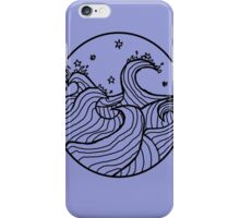 Stormy Waves iPhone Case/Skin