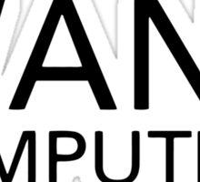 Wang Computers Sticker