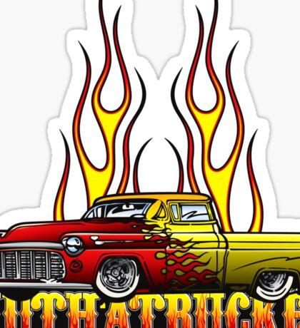 Mutha Trucker Sticker