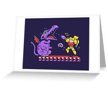 Pew Pew // Metroid Greeting Card