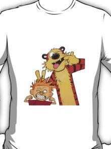 calvin and hobbes yucks T-Shirt