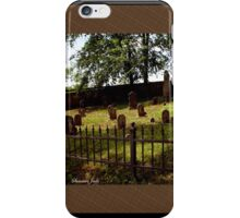 An Old Family Cemetery iPhone Case/Skin