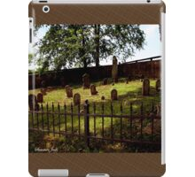 An Old Family Cemetery iPad Case/Skin