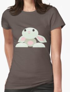 The Little Green Baby Bunny - The Dreamer Womens Fitted T-Shirt