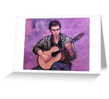 The Flamenco Guitarist Greeting Card