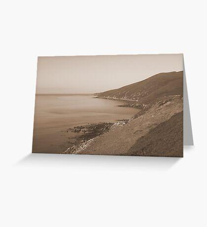 dingle road kerry ireland Greeting Card