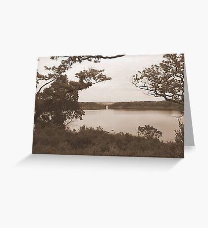 Lakes of Kilarney Kerry Ireland Greeting Card
