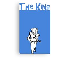 ROB- THE COOL KING Canvas Print