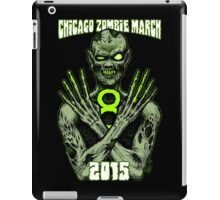 8th Annual Chicago Zombie March 2015 iPad Case/Skin