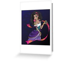 Disney Heroines - Esmeralda Greeting Card