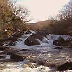 Ripping River Gap of Dunloe Co Kerry Ireland by James Cronin