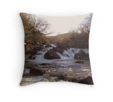 Ripping River Gap of Dunloe Co Kerry Ireland Throw Pillow