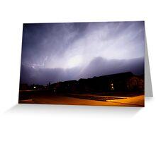 Lawton Lightning Greeting Card