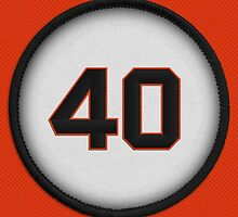 40 - Mad Bum (on orange) by DesignSyndicate