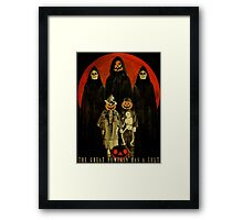 Cult of the Great Pumpkin: Trick or Treat Framed Print