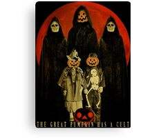 Cult of the Great Pumpkin: Trick or Treat Canvas Print