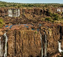 Iguazu Falls - Multi Level Falls by photograham