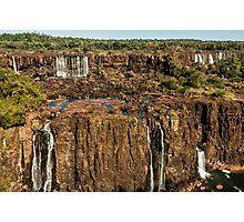 Iguazu Falls - Multi Level Falls Photographic Print