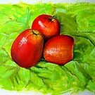 Apples II by Carole Russell