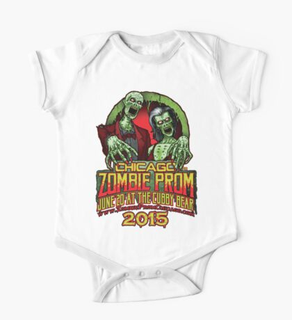 Zombie Prom Chicago 2015 One Piece - Short Sleeve