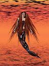 Red Heat .. an enchanting mermaid by LoneAngel