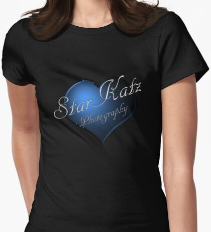 I Love StarKatz Photography Womens Fitted T-Shirt