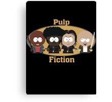 South Park Pulp Fiction Canvas Print