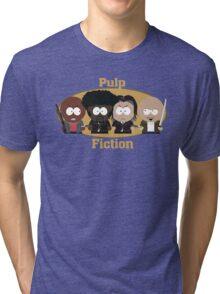 South Park Pulp Fiction Tri-blend T-Shirt