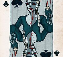Vampire King of Clubs by pixbyr