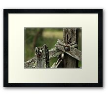 Left to Nature Framed Print