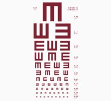 Eye Chart by Stephen Rocard