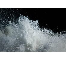 Frothy Photographic Print