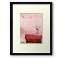 A . P L A C E Framed Print