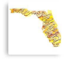 Florida – the Sunshine State Canvas Print