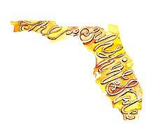 Florida – the Sunshine State Photographic Print