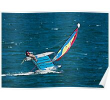 Hobie Cat on the Edge Poster