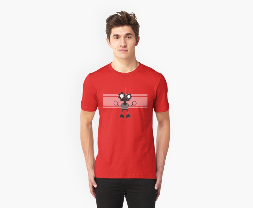Bot Monster Tee by monkeyminion