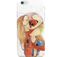 Spidey and MJ iPhone Case/Skin