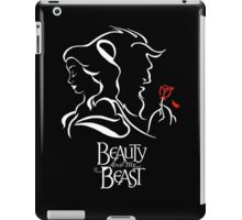 Beauty and the Beast - Belle, the Beast and the Rose iPad Case/Skin