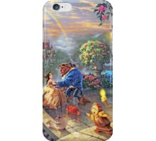 Beauty and the Beast - All Characters Cool iPhone Case/Skin