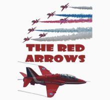 The Red Arrows T Shirt Kids Clothes