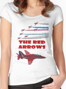 The Red Arrows T Shirt Women's Fitted Scoop T-Shirt