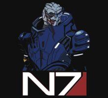 Mass Effect - Garrus Vakarian N7 Symbol T-Shirt
