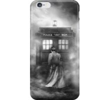 Doctor Who- the Doctor and the Mist iPhone Case/Skin