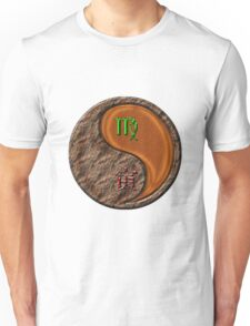 Virgo & Tiger Yang Wood Unisex T-Shirt