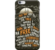 Hunger Games - The Hanging Tree Song iPhone Case/Skin