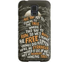 Hunger Games - The Hanging Tree Song Samsung Galaxy Case/Skin